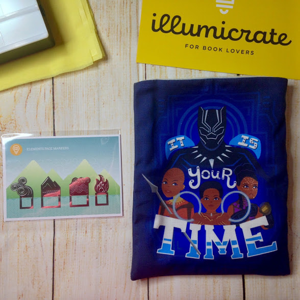 Illumicrate Book Box Unboxing